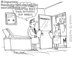 'This is the slowest business has been since suitcases got wheels.' by Schwadron, Harley. Political Cartoons, Funny Cartoons, Chiropractic Humor, Medical Humor, Suitcases, Wheels, Politics, The Originals, Comics