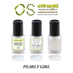 Pearly Girl Fabulously Ferocious™ Nail Lacquer – OverSoyed Fine Organic Products