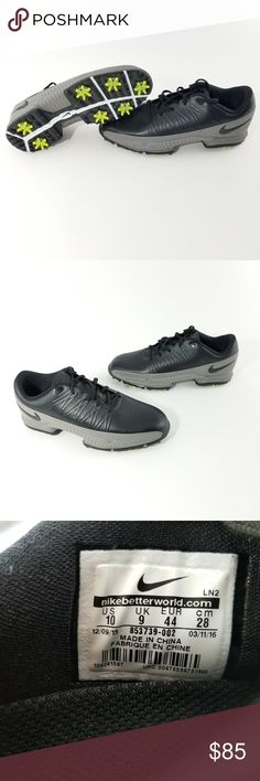 the best attitude 03a98 10723 Mens Nike Air Zoom Attack Golf Shoes Size 10 Brand New Without The Box. Has