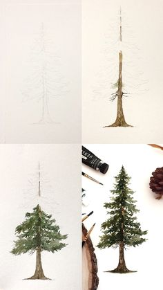 Pine Tree Tutorial