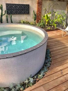 Best Above Ground Concrete Plunge Pool Circular Palmyra on Outdoor Creative Collection Above Ground Plunge Pool