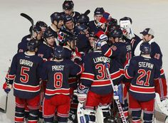 My Most Favorite Team EVER in any sport, the Broadway Blues, the New York Rangers! Let's Go Rangers!