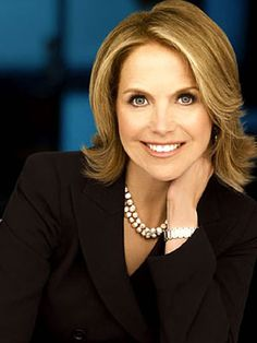 Katie Couric for losing her husband and still taking life by the reins as a super successful single Mom.  Always energetic and smiling despite life.
