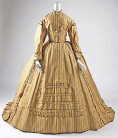 1866-1868 British Dress at the Metropolitan Museum of Art, New York