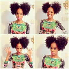 3C/4A Natural Hairstyles