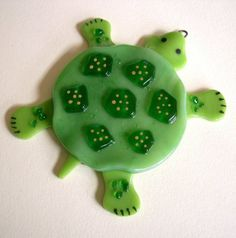 fused glass turtle - Google Search