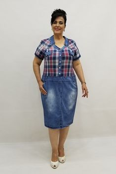 Miraggio Büyük Beden Elbise 81060 Short Sleeve Dresses, Dresses With Sleeves, Shirt Dress, T Shirt, Fashion, Supreme T Shirt, Moda, Shirtdress, Tee Shirt