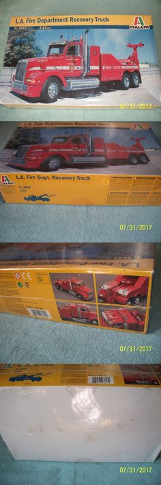 Truck 2584: Italeri 1 24 Western Star L.A. Fire Dept. Recovery Truck, Factory Sealed -> BUY IT NOW ONLY: $115 on eBay!