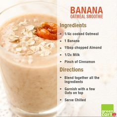 Oats - One of the Healthiest food items! Try this Relishing Recipe and Enjoy Healthy Eating!