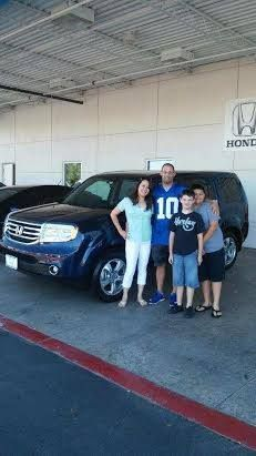 Congratulations Mr.Coombs and family on your new 2013 Honda Pilot From Kevin and The Findlay Honda Henderson Family! ‪#‎fhhfamily‬
