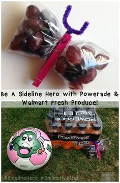 Be a Sideline Hero with POWERADE® and Fresh Produce at Walmart!  - Momma Lew
