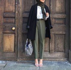 Hijab Fashion 2017 : Comment avoir un Hijab street style tendance Hijab Street l. - Hijab Fashion 2017 : Comment avoir un Hijab street style tendance Hijab Street look 2017 – look 09 Hijab Casual, Hijab Outfit, Outfit Look, Hijab Chic, Ootd Hijab, Dress Casual, Hijab Fashion 2017, Modern Hijab Fashion, Outfits