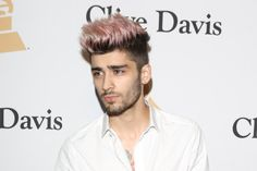 zayn malik pink hair - Google Search
