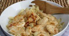 Lemon Butter Chicken with Noodles | Cozi.com