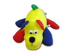 Cachorro Deitado - boneca de pano - atendimento@bonecadepano.com.br