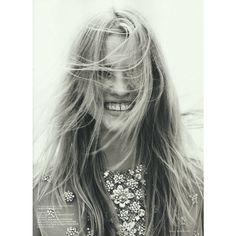 Lara Stone Vogue Netherlands 3 ❤ liked on Polyvore featuring people, pictures, hair, pics and models