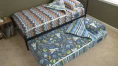Great for trundle beds!