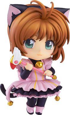 Cardcaptor Sakura Nendoroid Co-de Minifigur Sakura Kinomoto Black Cat Maid 10 cm