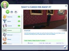Mod The Sims - Assassin Career