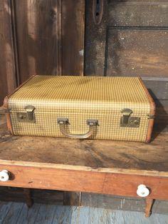 Antique Suitcase Luggage KAZETO Czechoslovakia Bakelite Handle by ...