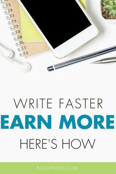 Mastering the ability to write faster is essential to earning more. This post will inspire you to create the right writing environment set up for success. Writing Advice, Make More Money, Affiliate Marketing, Work On Yourself, How To Start A Blog, Blogging, Environment, Success, Inspire