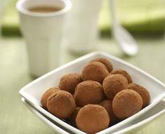 Trufas de chocolate y café