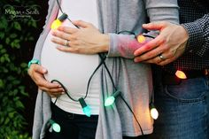 I might do this even if pictures are after Christmas, baby won't know; he's a winter baby anyways...