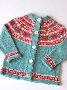Cardigan in the most amazing colors and I wish it was mine. :) Free pattern by Drops..