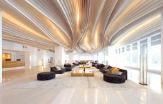 A luxury hotel lobby from Archinteriors vol. 44.