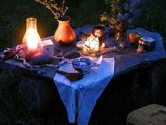 Inside A Witches Cottage