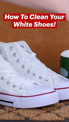 Household Cleaning Tips, House Cleaning Tips, Diy Cleaning Products, Cleaning Hacks, Amazing Life Hacks, Simple Life Hacks, Useful Life Hacks, How To Clean White Shoes, Clean Shoes