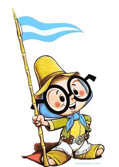 BANDERA DE MI NACIÓN Cueca Cuyana Patriótica Marchas e Himnos Patrios Gaucho, Pink Panter, Ferrat, Cool Cartoons, Archie, Folklore, Tigger, Smurfs, Nerdy