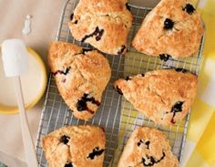Blueberry-lemon scones—as good as your favorite bakery, and ready in 35 minutes at home
