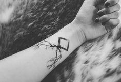 Fresh WTFDotworkTattoo Find Fresh from the Web Rune by @pigheadlfdb :) #tattoo…