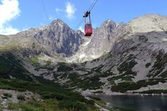 Lomnický štít – funicular, High Tatras National Park, Slovakia