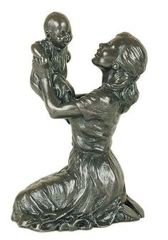 Bronze Sculpture - Mother & Child I