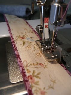 #sew #faux #piped handles
