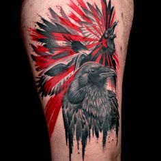 Check out this high res photo of Matt O'Baugh's tattoo from the Trash Polka episode of Ink Master on Spike.com.