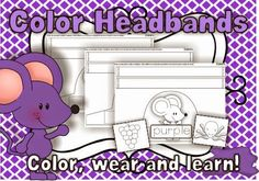 Colors here, colors there, colors everywhere! FREE headbands pack!