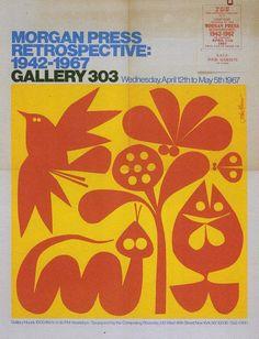 Exhibit poster by John Alcorn, 1967.