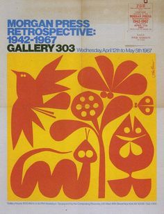 Exhibit poster by John Alcorn, 1967.