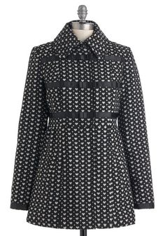 $197.99 OMG I WANT THIS SO BAD! Love at First Sigh Coat, #ModCloth
