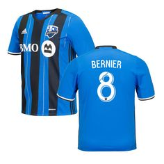 Patrice Bernier Montreal Impact adidas Youth 2016 Replica Primary Jersey - Royal - $94.99