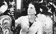 Coco Chanel - hemma hos