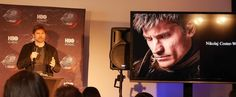 "nikolajfangirlteam: ""Nikolaj Coster-Waldau / Game of Thrones: The Exhibition [Stockholm] """