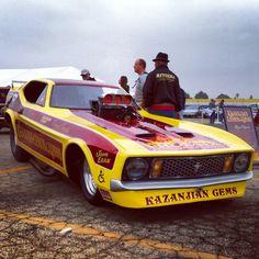 Classic Pony Funny Car... 2014 NHRA Winternationls Classic Muscle Car Show