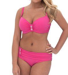 Curvy Kate Luau Love Padded Bikini Swim Top