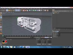 Cinema 4D/Photoshop Tutorial (BluePrint Effect Amazing) By Raz - YouTube