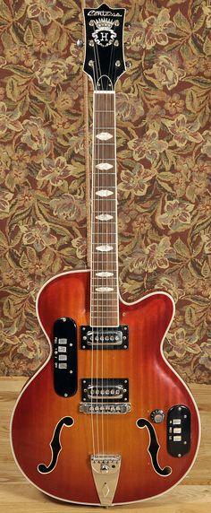 CONTESSA HG-141 Sunburst 1960s | Chicago Music Exchange