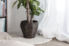 Den hvide friske farve bringer en stemning af minimalistisk og skandinavisk, derudover er tæppet lavet af det bedste kvalitet af uld.  #Tæppe #Dansk #Hjemme #Møbler #Sukhi